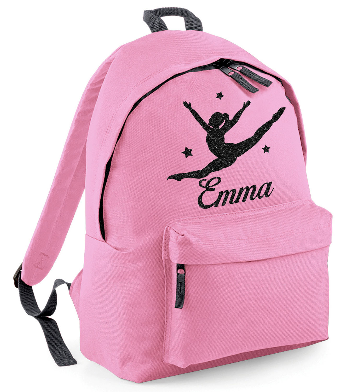Gymnastics Personalised Customised Kids Toddler School Nursery Bag Backpack